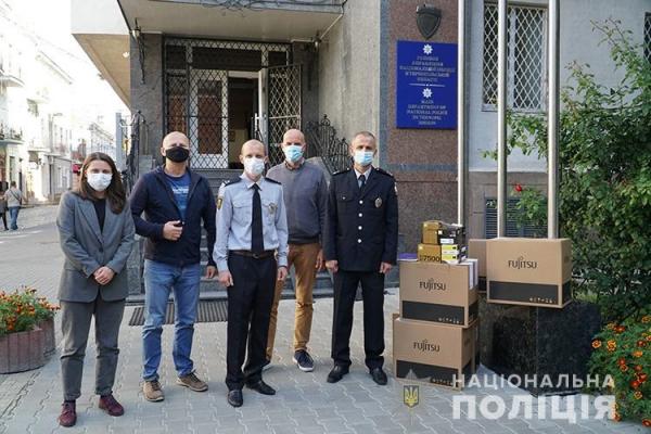 Правоохоронцям Тернопільщини передали сучасне обладнання