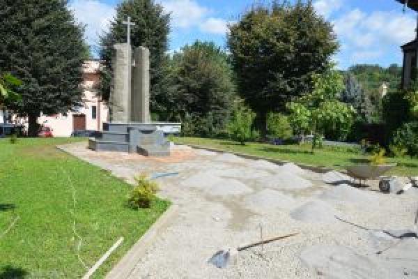 У центрі Чорткова розпочали відновлювати сквер