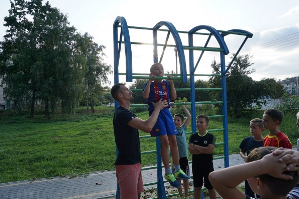 На Тернопільщині реалізують проект «Активні парки – локації здорової України»