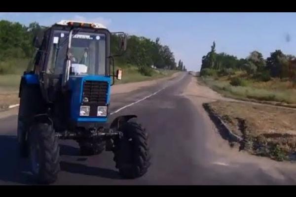 На Тернопільщині водій трактора намагався відкупитися від патрульних