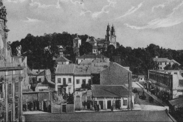 Місто Бучач фото на 1920-х рр.
