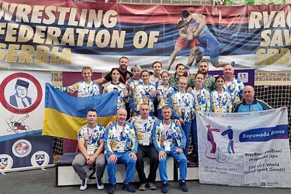 Тернополянка здобула перемогу на Всесвітніх іграх школярів з вільної боротьби