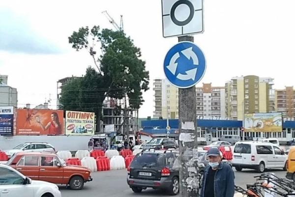 Увага водіїв! У Тернополі на одному із перехресть змінили схему руху