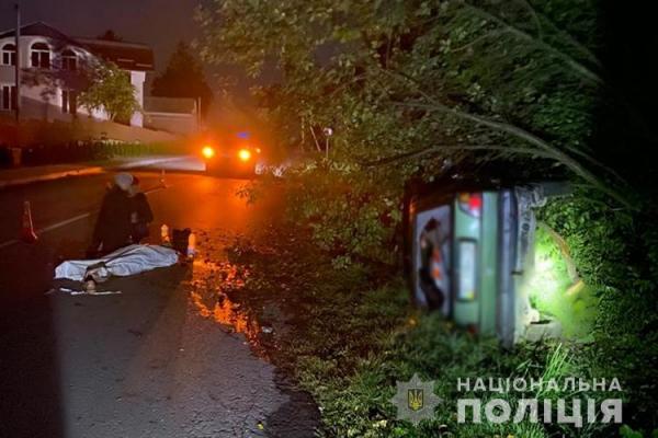 На Тернопільщині ДТП: 18-річний юнак загинув на місці