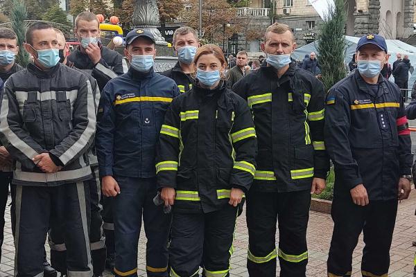 «Найсильніший пожежний-рятувальник Київ 2021»: рятувальники з Тернопільщини борються за перемогу на Всеукраїнських змаганнях
