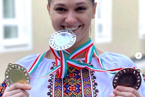 Тернопільська гімнастка Анастасія Бачинська здобула ще три медалі