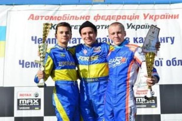 Тернополяни здобули перемогу на VI етапі Чемпіонату України з картингу «Rotax Max 2021»
