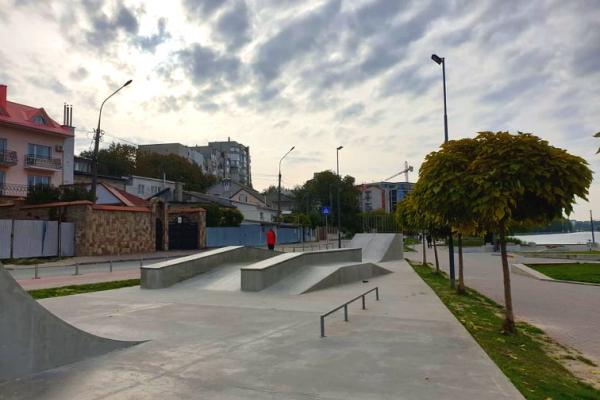 У Тернополі оновили скейт-парки