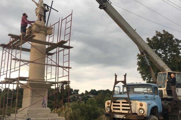 Один із туристичних «магнітів»: на Тернопільщині відреставрували пам'ятку монументального мистецтва XIX століття