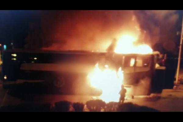 У Польщі загорівся  рейсовий автобус Слупськ – Тернопіль