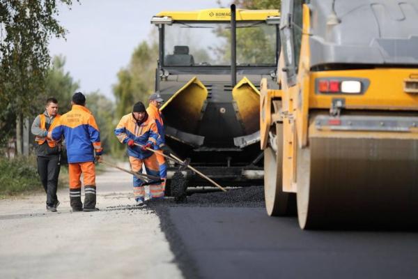 В Озерянській громаді триває ремонт дороги місцевого значення (відео)