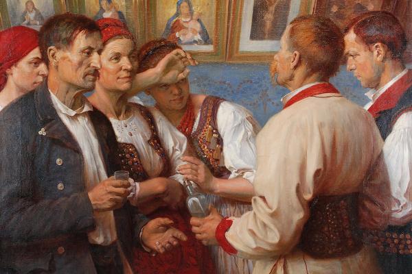 Про художника Леонарда Стройновського із Тернопільщини