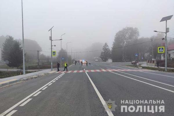 На Тернопільщині ДТП: під колесами авто загинув 60-річний чоловік