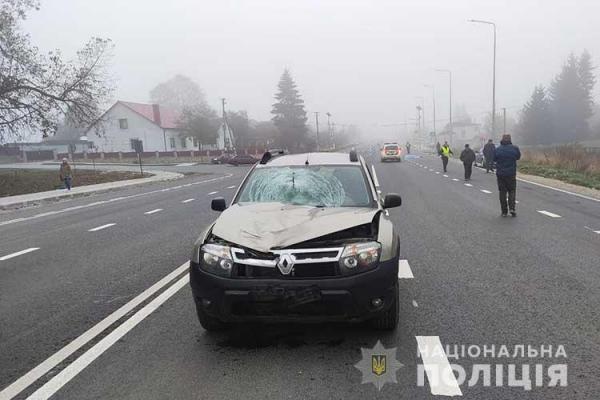 Поліцейські встановлюють обставини ДТП на Тернопіллі, у якій загинув 60-річний пішохід