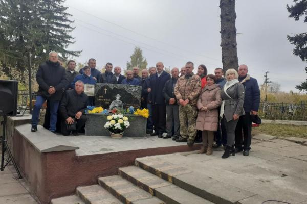 На Тернопільщині відкрили пам'ятник солдатам, які загинули в Афганістані