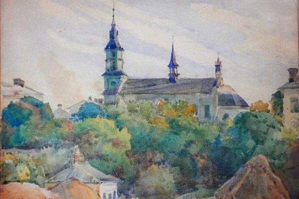 Художник Владислав Щепанік малював пейзажі Тернополя 100 років тому