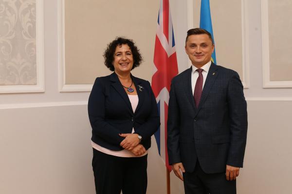 Тернопільщина налагоджує співпрацю з Великобританією