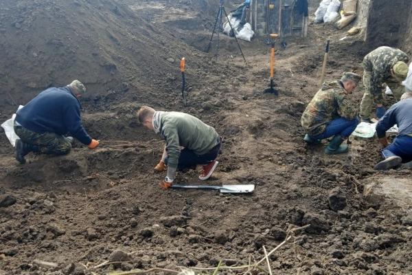 На Тернопільщині знайшли рештки людей часів Другої світової війни