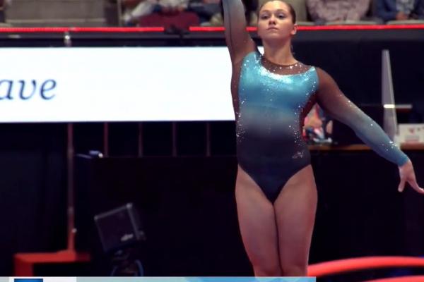 Тернополянка посіла сьоме місце у фіналі вільних вправ на чемпіонаті світу зі спортивної гімнастики