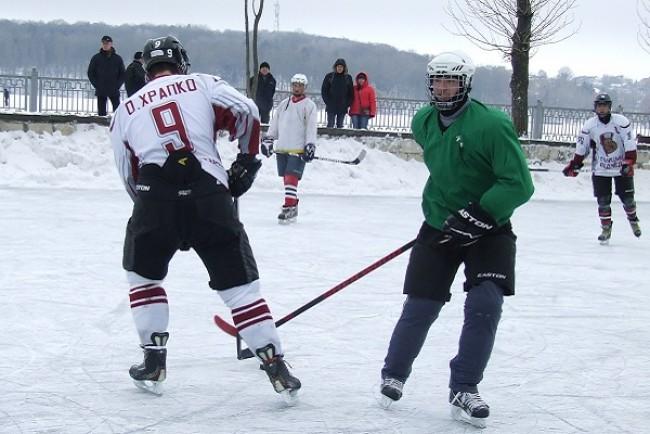 У парку ім. Шевченка - 26 і 27 січня змагання з хокею на озері «Ternopil hockey classik, 2019»
