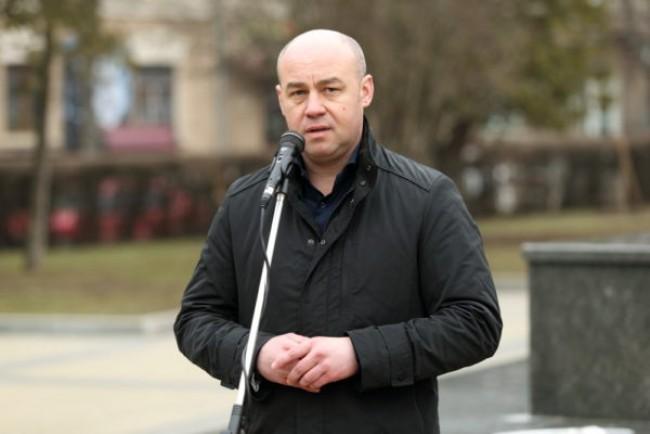 Міський голова Тернополя Сергій Надал привітав бійців з Днем українського добровольця