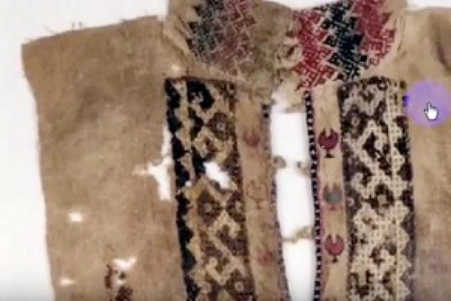 Стара лемкиня з Тернопільщини показала унікальні вишиті костюми (Відео)