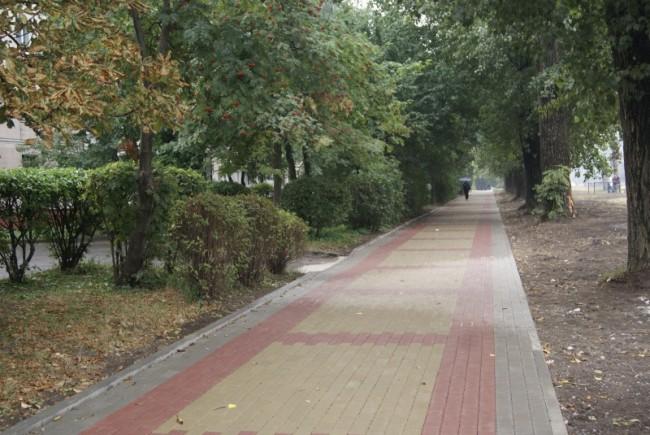 Тернополяни вимагають облаштувати тротуар на одній з вулиць
