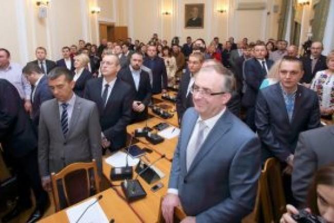 Тернопільська міська рада звернулася до Верховної ради України щодо ухвалення антиолігархічного пакету докорінних перетворень