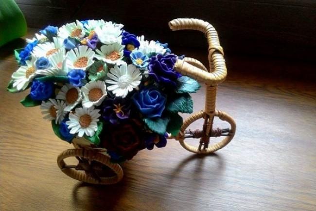 Оксана Семенчук: «Коли мені не вистачає квітів, я їх створюю» (Фото)