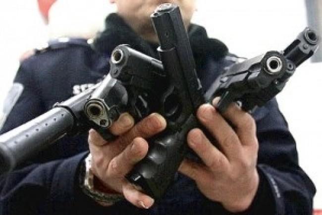 У поліцію принесли 20 одиниць зброї