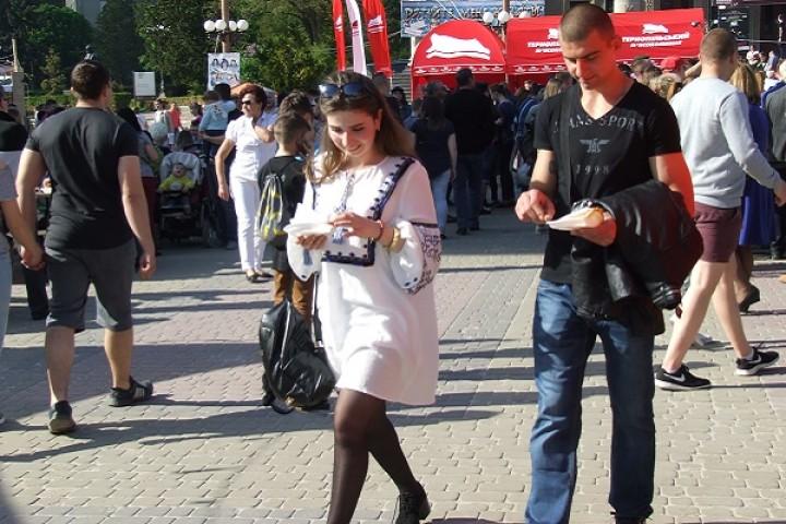 Фестиваль Тернопільська Брама: 547 метрів ковбаси та багато цікавинок - тільки у Тернополі (Фоторепортаж)