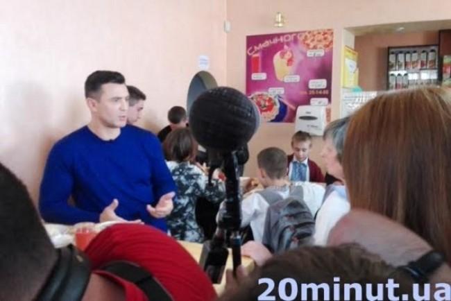 «Ревізор» добрався до Тернополя: ажіотаж у «Старій піцерії» (Фото)