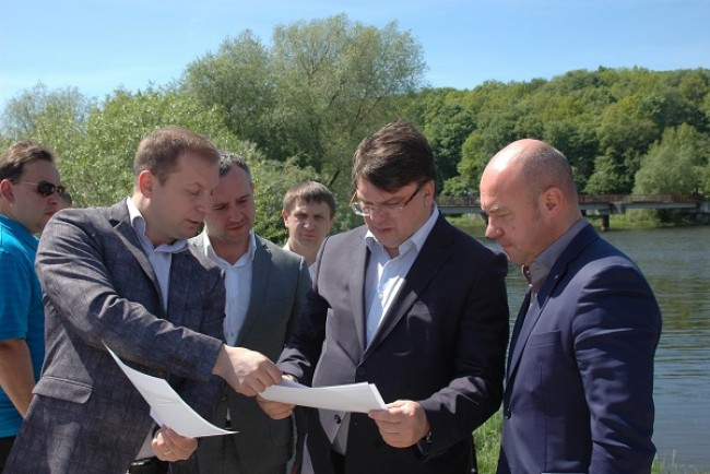 Тернопільщина готується стати центром водних видів спорту міжнародного рівня