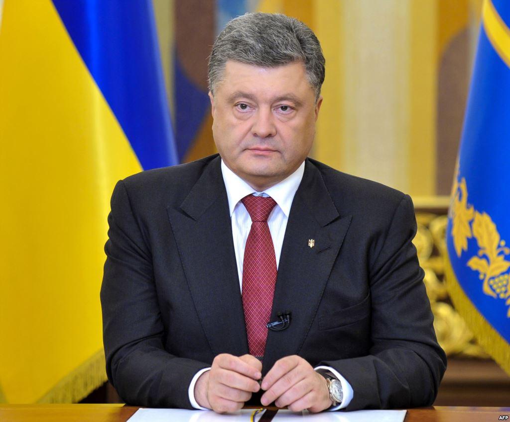 Петро Порошенко вимагає від керівництва Російської Федерації звільнення українських військовослужбовців (Відео)