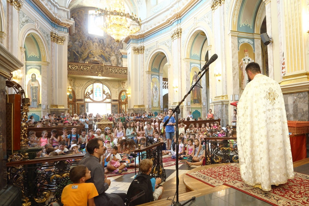 Понад 500 тернопільських дітей відвідали цьогорічні «Веселі канікули з Богом» при Архикатедральному Соборі (Фото)