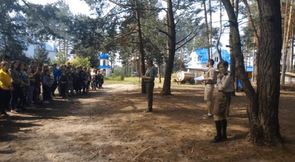 Пластуни допомогли у проведенні православного табору для молоді на Тернопільщині
