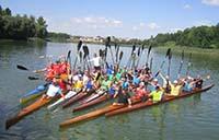 Тернополяни здобули «золото» і «срібло» на чемпіонатi України з веслування на байдарках і каное серед ветеранів