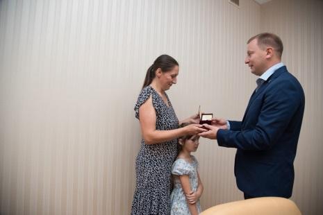 Орден «Мати-героїня» отримала Олена Обшарська з Кременеччини
