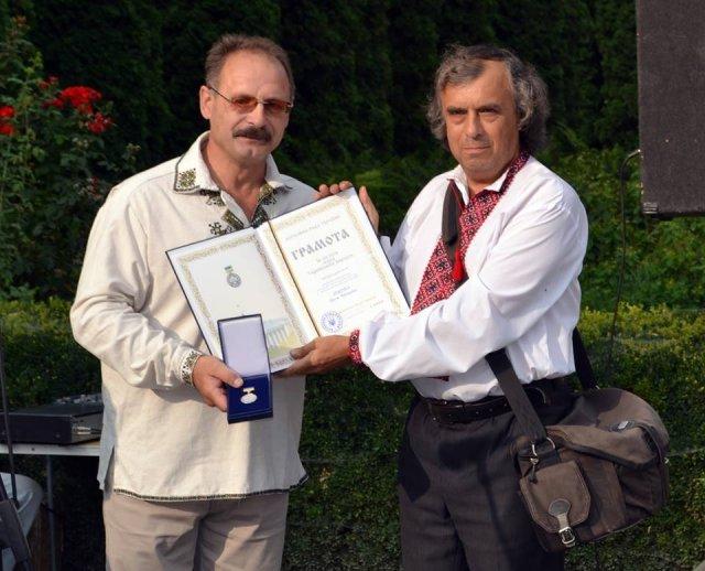 Чортківського фотографа нагородили Грамотою Верховної Ради України