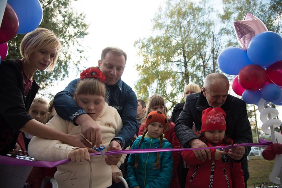 На Тернопільщині з'явився ще один центр інклюзивної освіти (Фото)