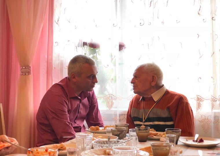 Найстаріший житель Тернополя відсвяткував свій День народження (Фото)
