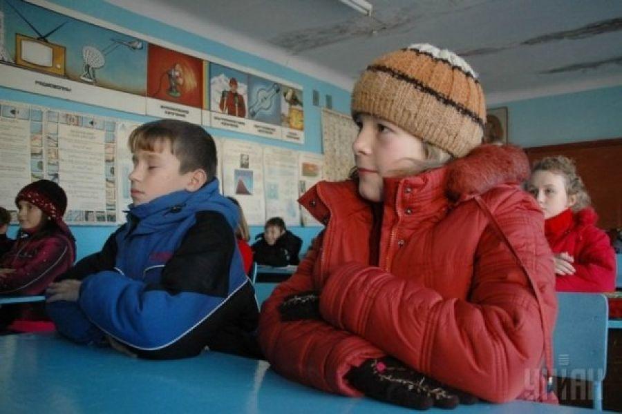 Діти замерзають у Тернопільській школі (Відео)