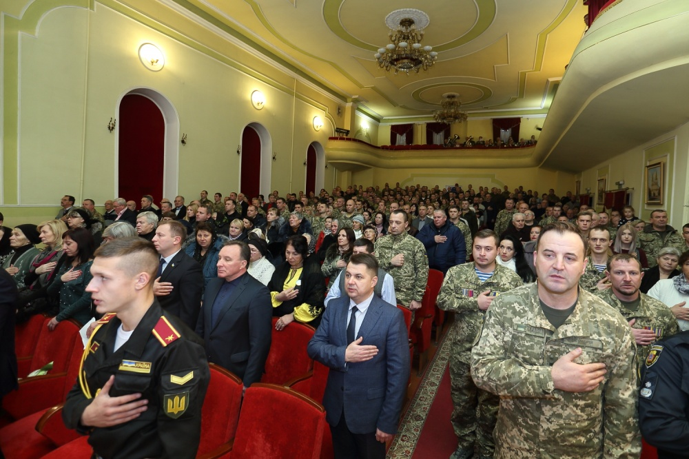 У Тернополі відбулися урочистості з нагоди Дня Збройних Сил України (Фото)