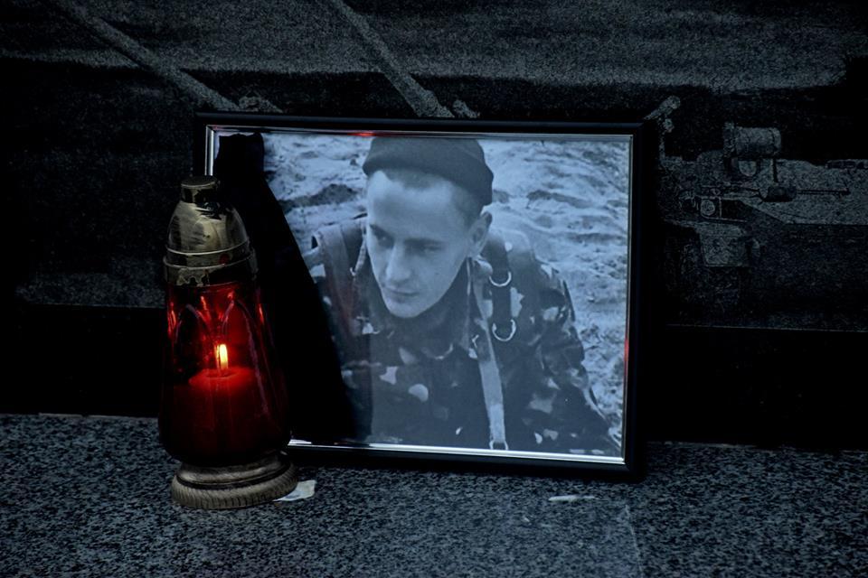На Тернопільщині військові вшанували побратима (Фото)