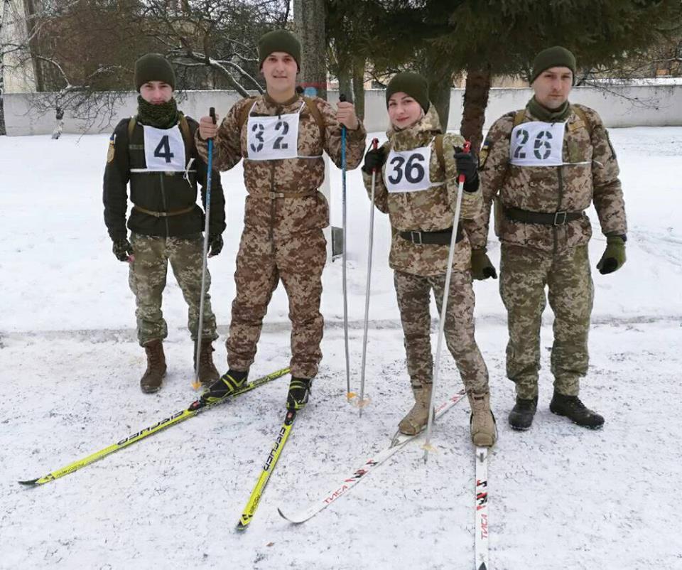 Тернопільський військовий зайняв 1 місце на змаганнях у Рівному (Фото)