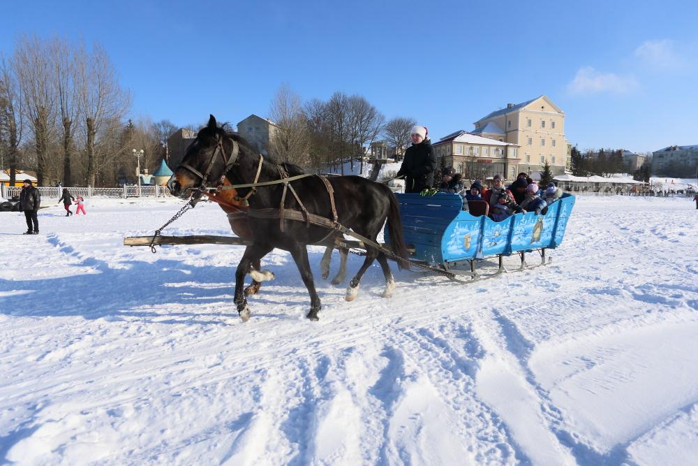 Святкування Дня Зими у Тернополі