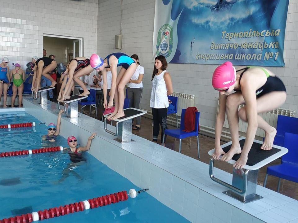 У Тернополі стартував Чемпіонат області з плавання (Фото)